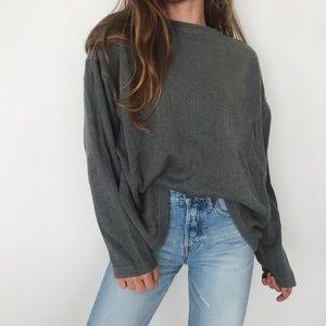 [Van Heusen] slouchy oversized sweater
